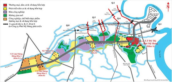 """Quy hoạch và phát triển hạ tầng khu Nam sẽ làm """"nóng"""" thị trường BĐS."""